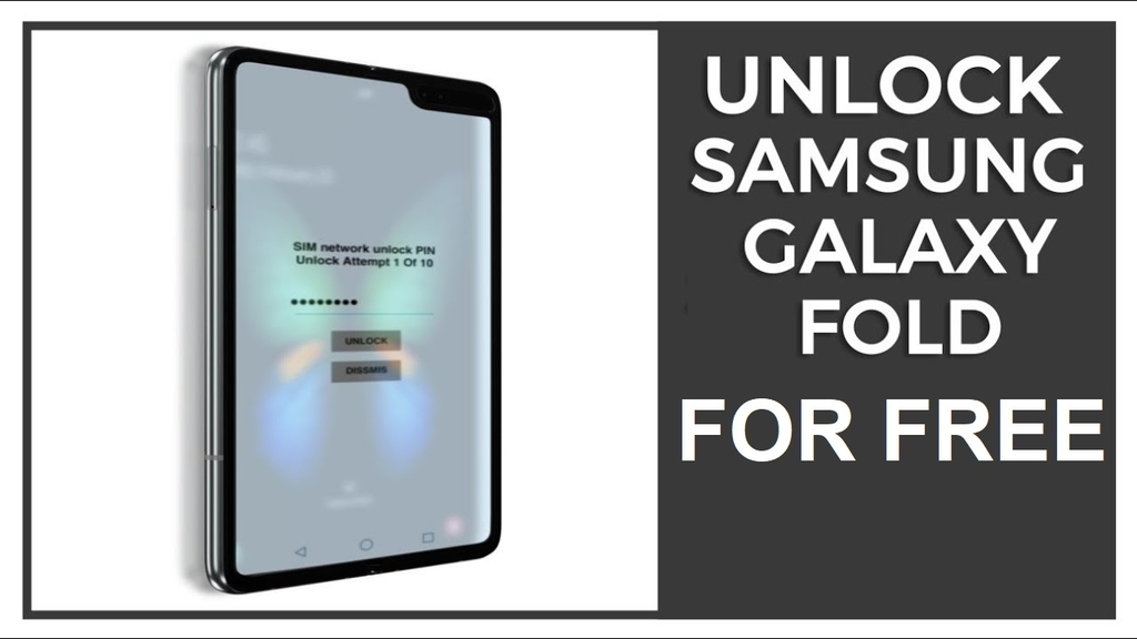 How to unlock Samsung Galaxy Fold for Free